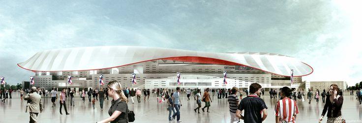 Estadio-futbol-Atletico-Madrid_Design-exterior-entrada-aficionados_Cruz-y-Ortiz-Arquitectos_CYO-R_23