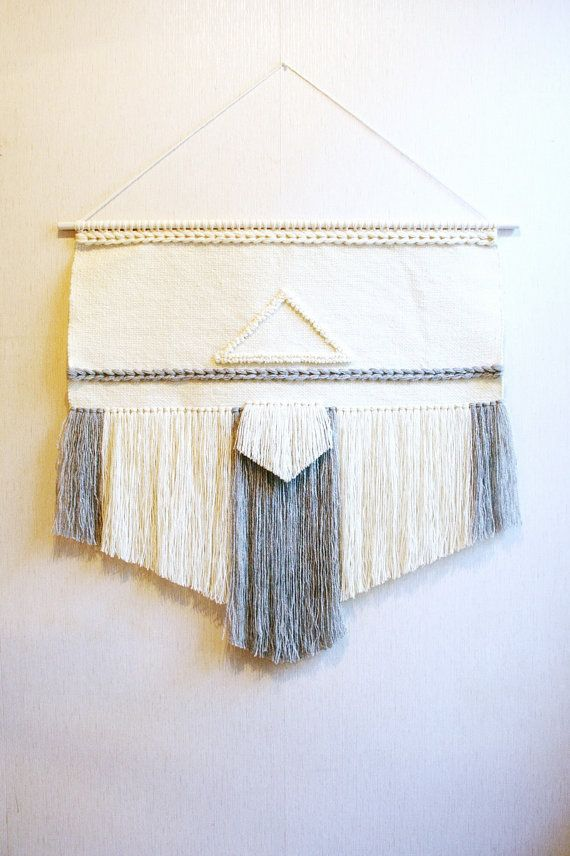 Large woven wall hanging wall weaving tapestry wall by Delekselja