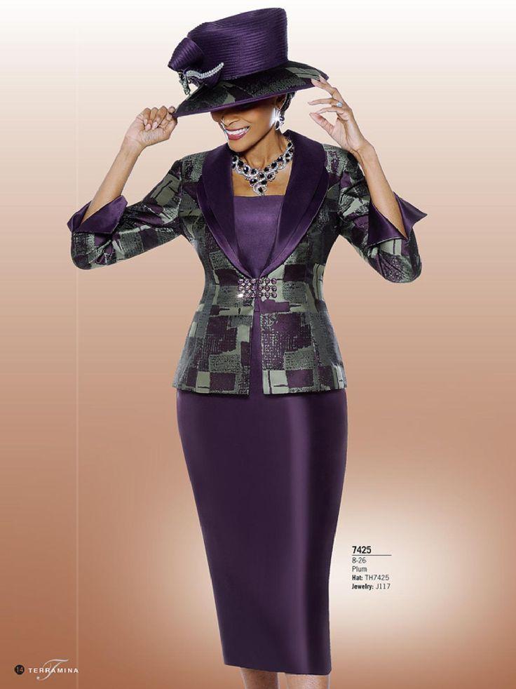 Terramina Ladies Suit 7425 - Divine Church Suits