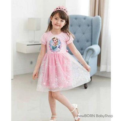 [DRESS FROZEN] GAUN PESTA ANAK-ANAK ELSA-ANNA BERBAGAI MODEL*WARNA