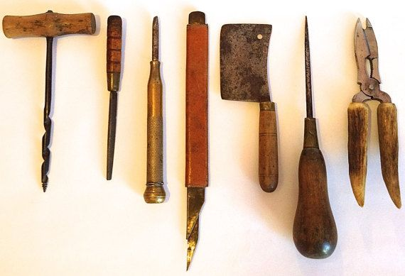 Old vintage tools under £10 per item!