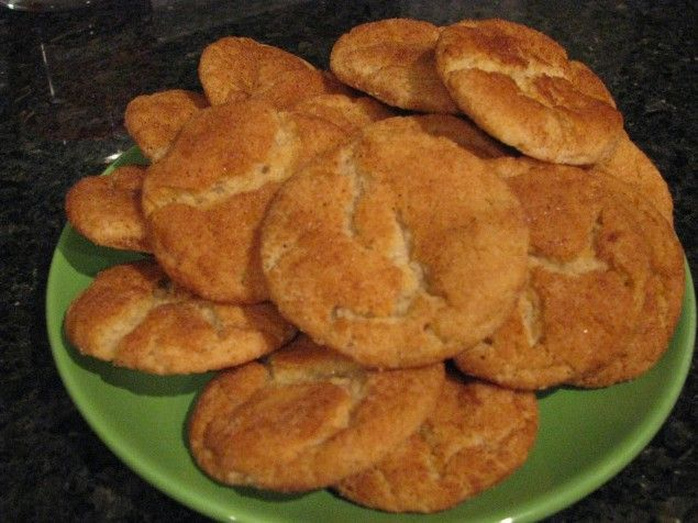 """Dairy, Egg and Nut Free Snickerdoodle Cookies - Food Allergy Mama (I made these for a lactose-intolerant coworker once; they were awesome! You couldn't tell they were """"allergy friendly"""" at all)"""