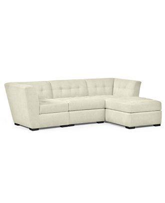 Roxanne 3-Piece Modular Sectional Sofa- Custom Colors