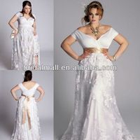 10 best Plus size wedding dresses images on Pinterest | Homecoming ...