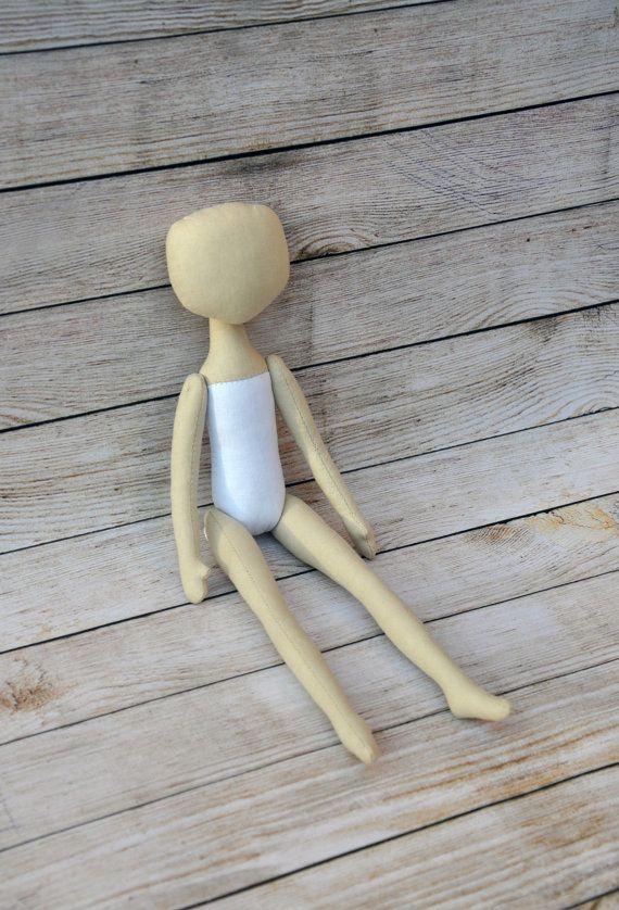 PDF muñeca de trapo patrón 15 PDF Tutorial de costura por NilaDolss