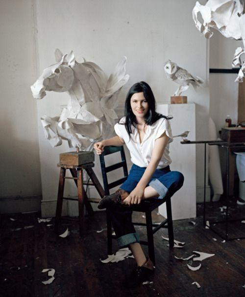 on the artist.: The Artists, Hors Sculpture, Paper Animal, Paper Birds, Annawili Highfield, Paper Art, Paper Sculpture, Animal Sculpture, Anna Wili Highfield