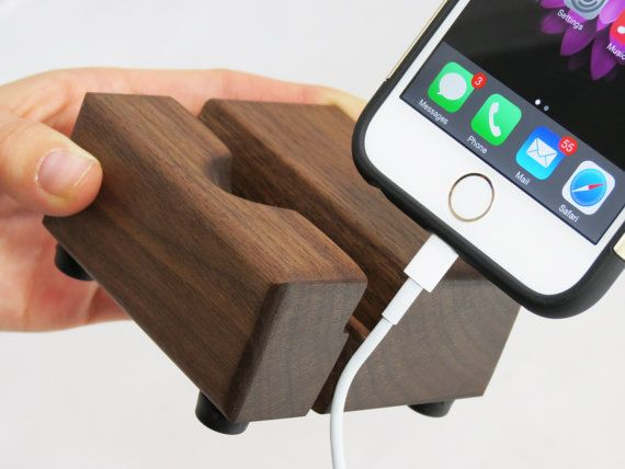 iPhone Stand for 6 / 6s Slide in Charger Cable by Grantstands