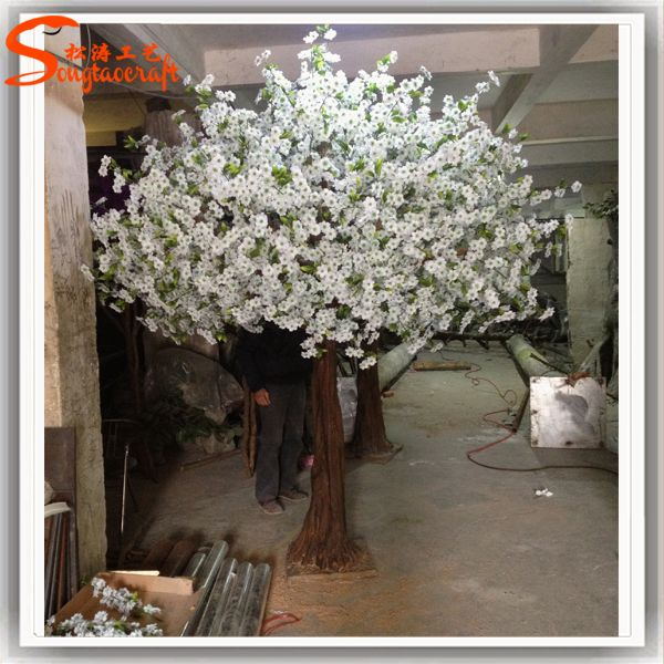 Artificial White Flowers Indoor Cherry Blossom Tree For Wedding Decoration    Buy Artificial Blossom Tree,White Blossom Tree,Cherry Blossom Tree  Wedding ...