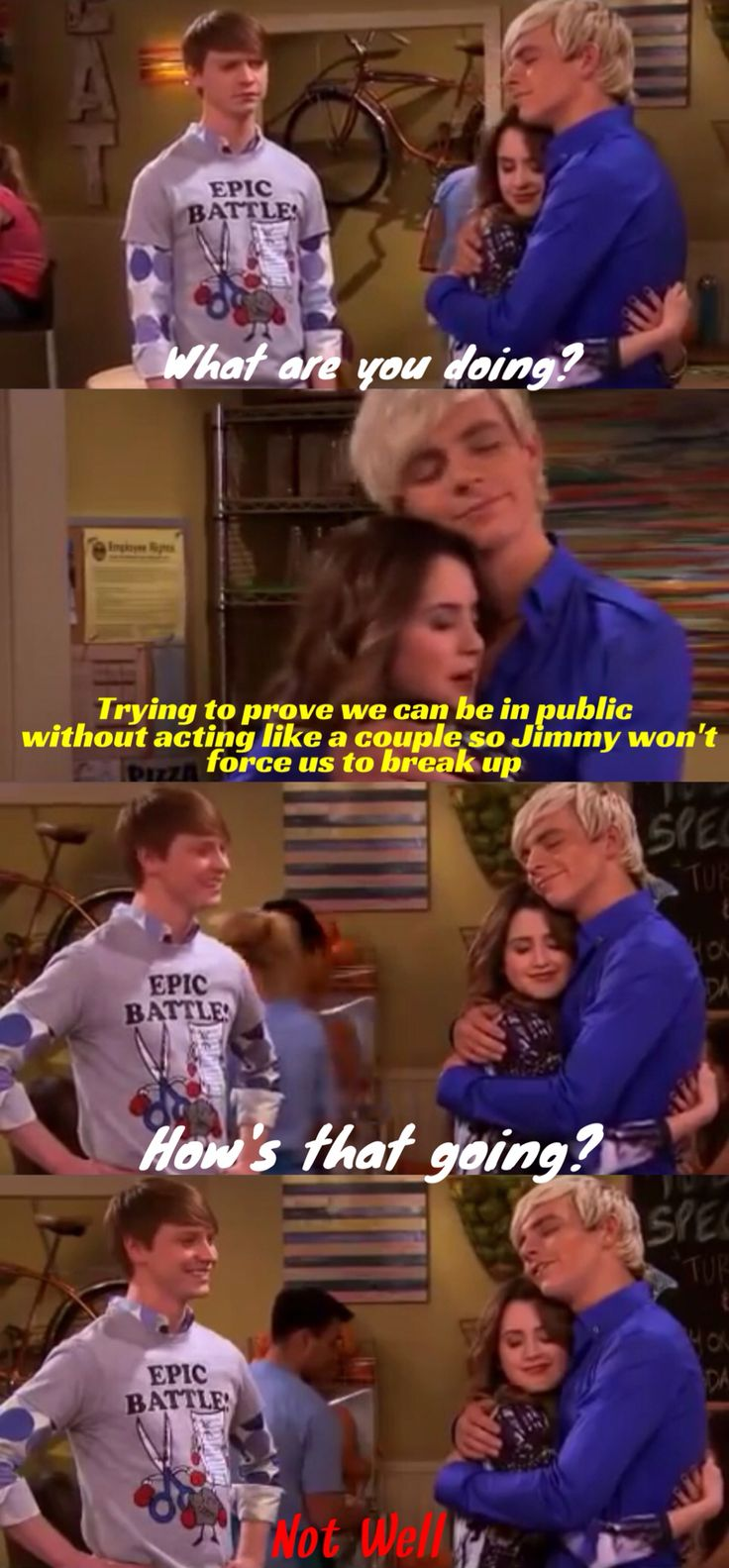 I love this scene so much. ITS FULL OF AUSLLY!!!!!!!! XD