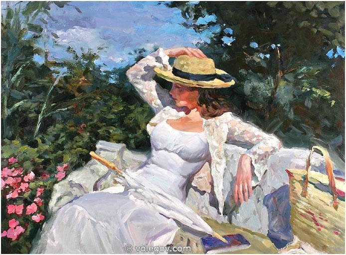 THE WHITE BENCH, Vladimir Volegov