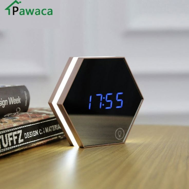 New Electronics Android Led Alarm Clock Wall Clock Light Alarm Clock