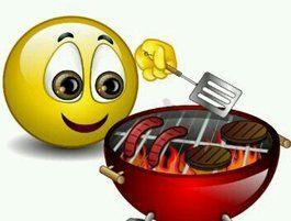Abendessen ist gleich fertig! ☺ Bringt mir bitte einen Teller fürs Gegrillte! - Guten Appetit!