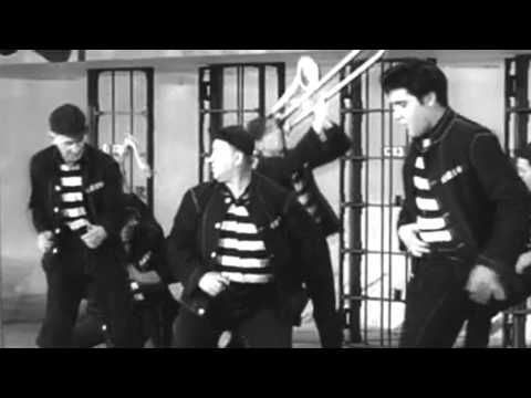 Elvis Presley - Jailhouse Rock (HD Music Video) ~ I don't believe I ever seen this whole video, I've played this song a thousand times though.