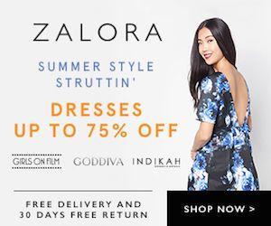 ZALORA SINGAPORE - SUMMER STYLE STRUTTIN