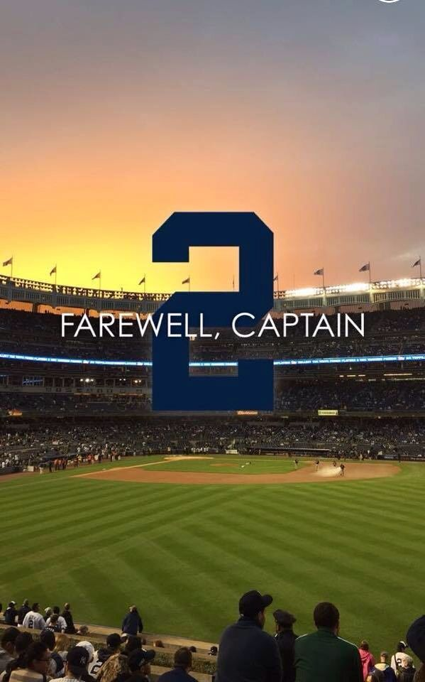 His last game at Yankee Stadium was on last night...so moving and sad. Thank you, Derek!                                                                                                                                                      More