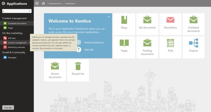 Check out the new release from Kentico! #Kentico #CMS 8 offers a slick new interface and improved #marketing functionality.