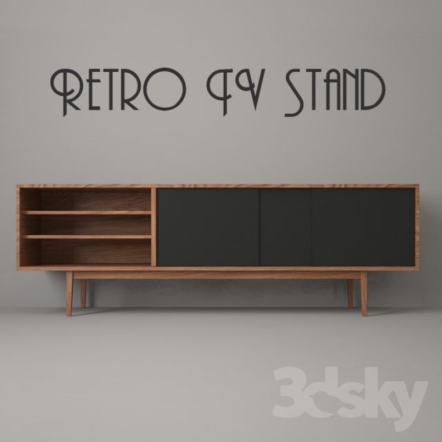 25+ best ideas about Retro Tv Stand on Pinterest  -> Tv Stand And Sideboard Set