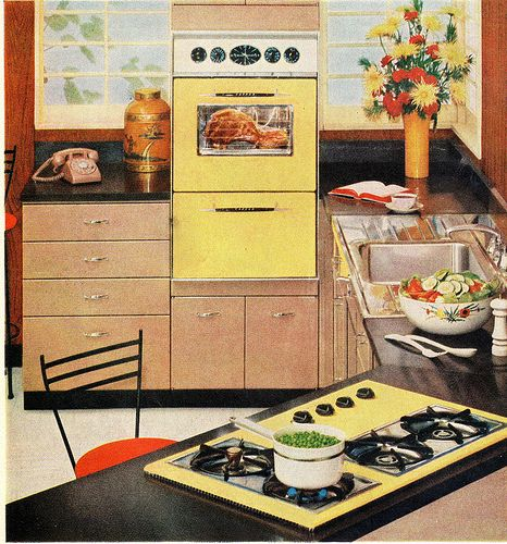 Vintage Kitchen Photography: 1960 Tappan Gas Range And Oven