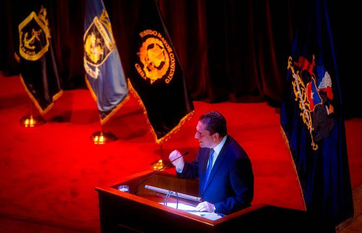 Ministro Gómez destacó los avances en Defensa y los logros del Gobierno de la Presidenta Bachelet, pese a las dificultades. - Ministerio de Defensa Nacional