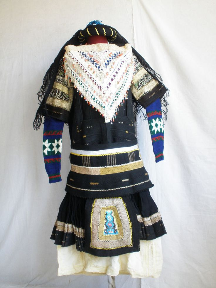 Antique Sarakachani Greek Folk Wedding Costume on Ebay