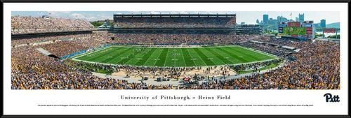 Pitt University Panthers Framed Panoramic Photo