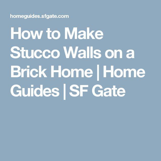 17 Best Ideas About Stucco Walls On Pinterest Succulent