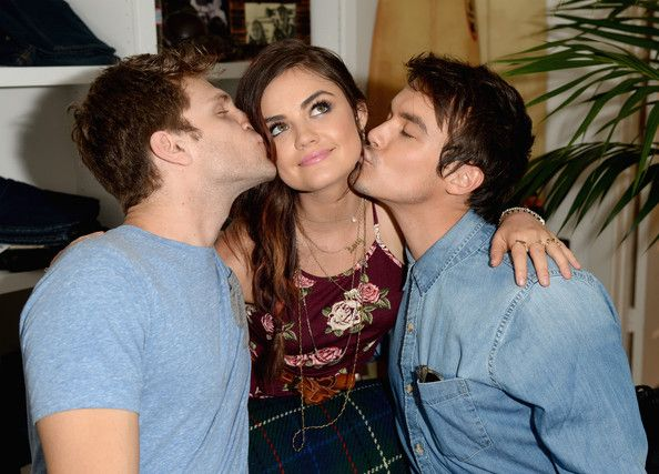 Keegan and Tyler and Lucy