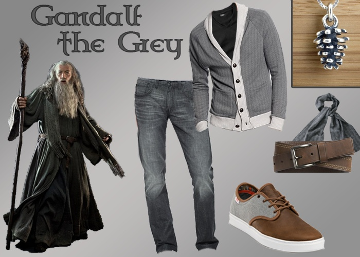 Outfit inspired by Gandalf the Grey (Lord of the Rings)