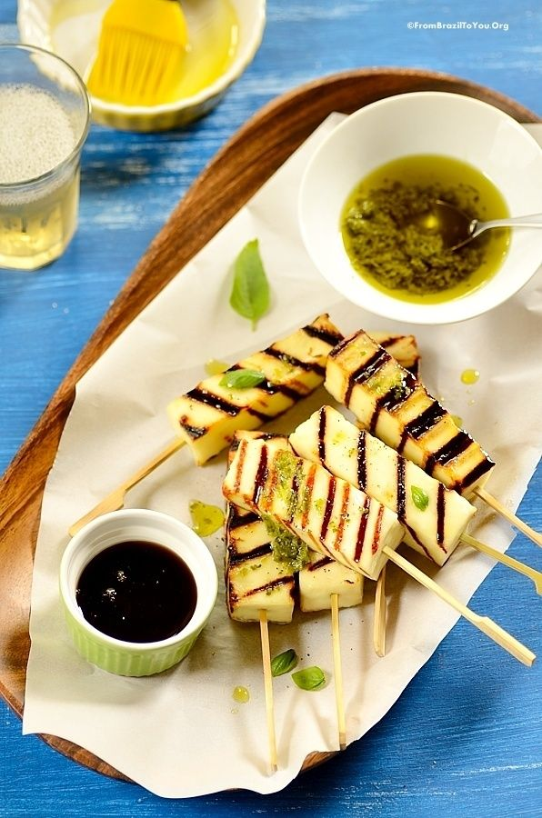 Grilled Cheese Sticks & The Best Cheeses for Grilling - From Brazil To You