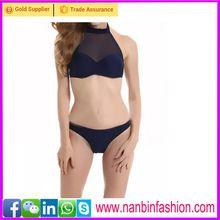 Black high neck bikini hot sexy see-through bikini swimwear   Best Buy follow this link http://shopingayo.space