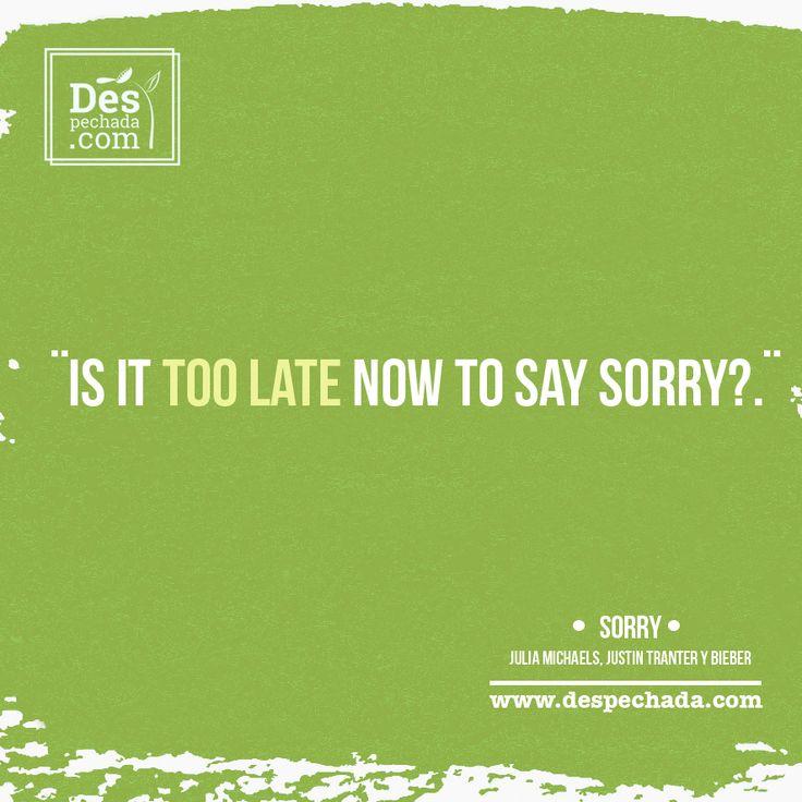 Definitivamente a tu ¨ex¨ se le hizo muy tarde... ahora diviértete bailando con las ROLAS DESPECHADAS de www.despechada.com