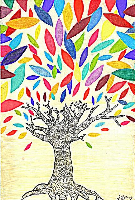 fall's carnival original color by Natália Wella, via Flickr