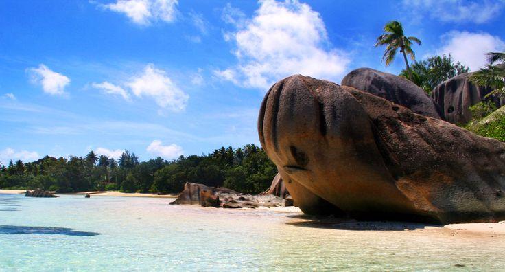Anse Source d'Argent itt: La Digue, Seychelles