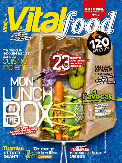Couverture du Vital Food 12