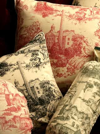 Victorian Era Clothing | William Morris Fabric Pattern | Novelty Toile Fabrics