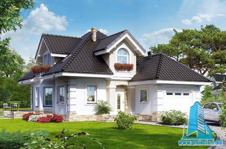 Proiect de casa cu parter, mansarda si garaj pentru un automobil-100658 http://www.proiectari.md/property/proiect-de-casa-cu-parter-mansarda-si-garaj-pentru-un-automobil-100658/