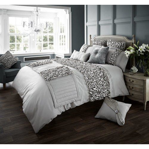 Luxurious Oxy Diamante Style Modern Duvet Cover Sets Curtains Cushion Covers