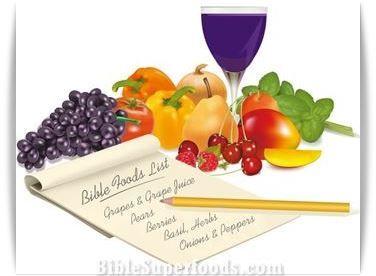 Complete Bible Food List