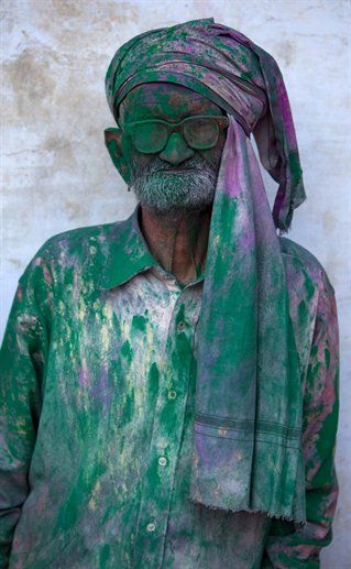 The Indian Holi festival - An ebullient and wild occasion for all on NOWNESS.