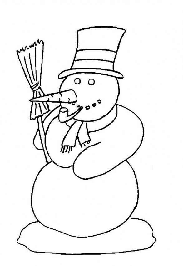 13 best Winter Coloring Pages images on Pinterest Free printable