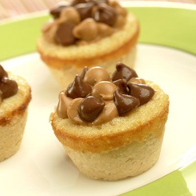 Peanut Butter & Chocolate Cookie Cups - If I had to choose one food to eat for the rest of my life, it'd be a tie between these and oreos.