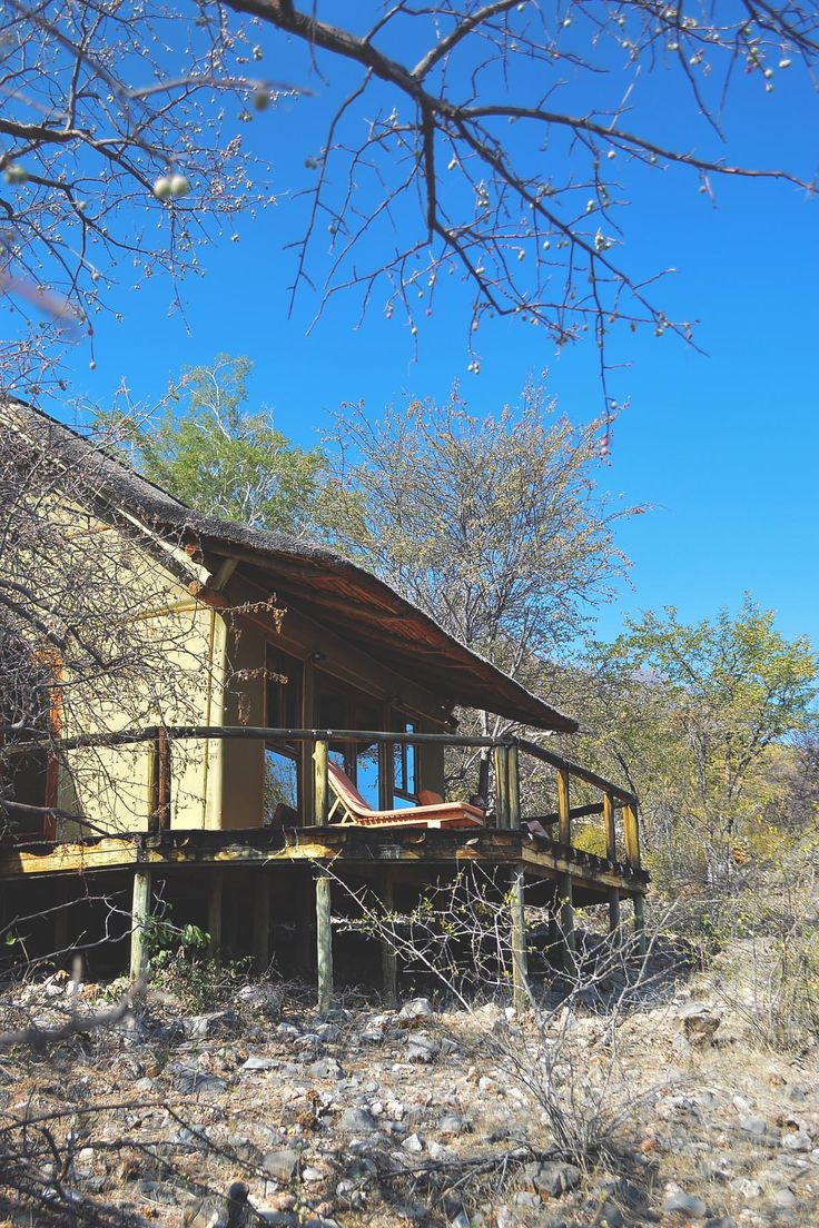 The luxury chalet at Ongava Lodge, Namibia | heneedsfood.com