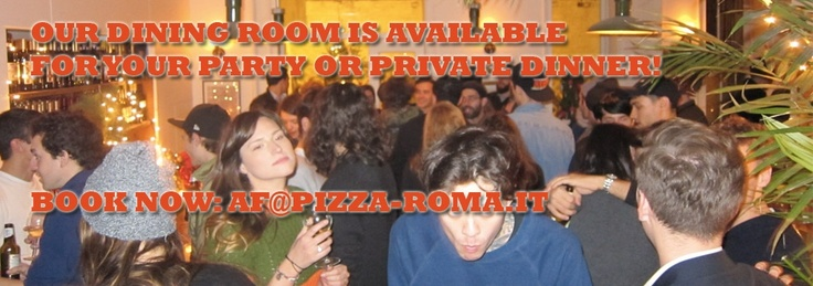 Birreria Roma: a tiny little garden of  beer and pizza accessible only by secret passage on Bleecker Street