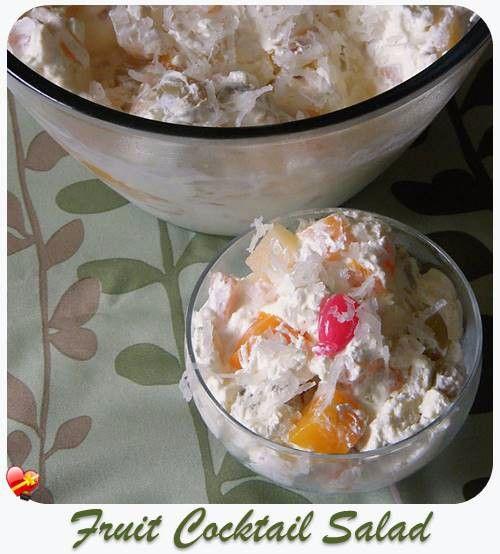 Fruit Cocktail Salad - ILoveHawaiianFoodRecipes