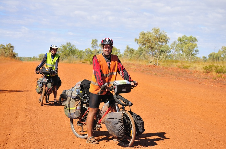 Cycling in the Outback