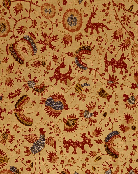 Skirt cloth, late C19th, Java   V Search the Collections