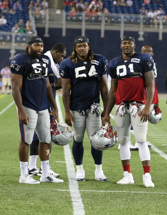 Jerod Mayo, Dont'a Hightower and Jamie Collins -::- NFL's Best LB Trio (although Carolina's got some serious talent too)
