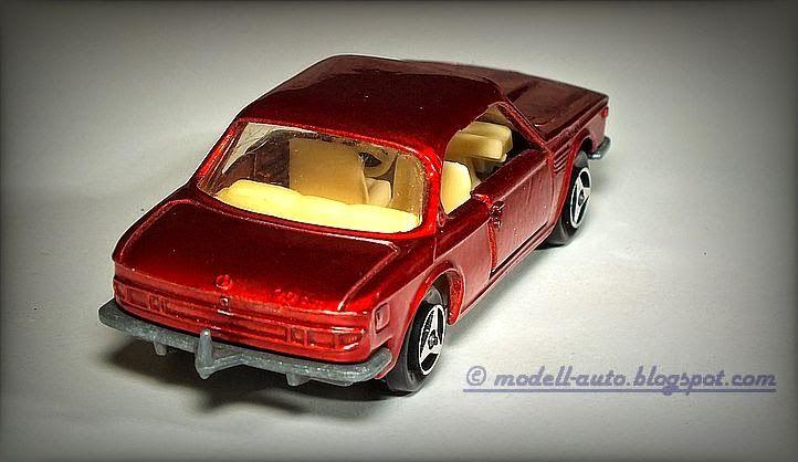 Mein Blog über Modellautos: Majorette BMW 3.0 CSI Series 200 No 235 France 1974