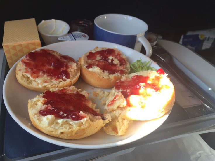 Bland And Beautiful British Airways Club Europe Food In Band 1 #AfternoonTea, #Band1, #Beautiful, #Bland, #Chicken, #Dinner, #Food, #Meal, #Salad, #Scones