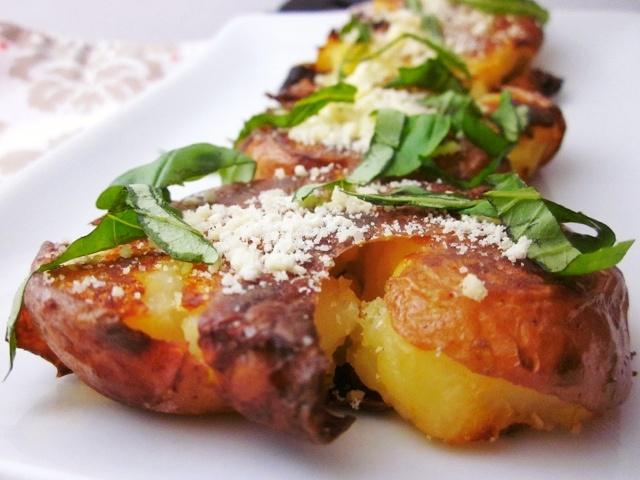 ... Crispy Smashed Potatoes | Recipes - Side Dishes | Pinterest | Crispy